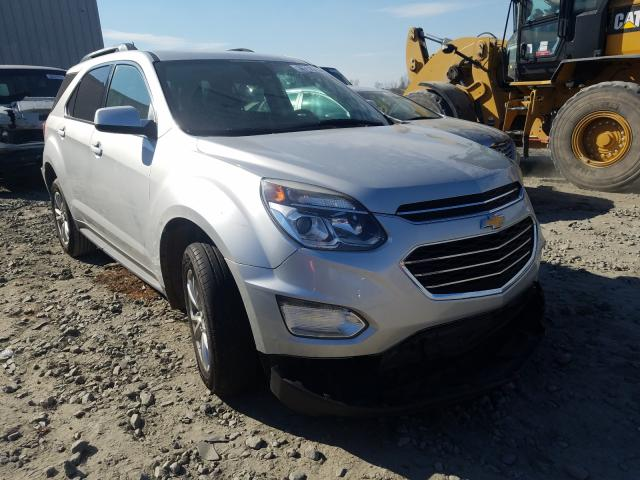 Salvage cars for sale from Copart Byron, GA: 2017 Chevrolet Equinox LT