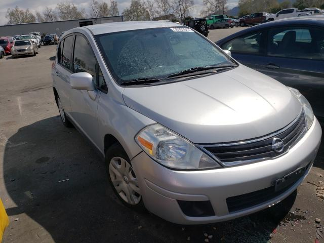 Salvage cars for sale from Copart Colton, CA: 2012 Nissan Versa S