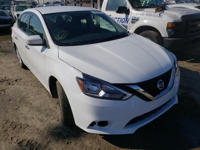Nissan salvage cars for sale: 2017 Nissan Sentra S