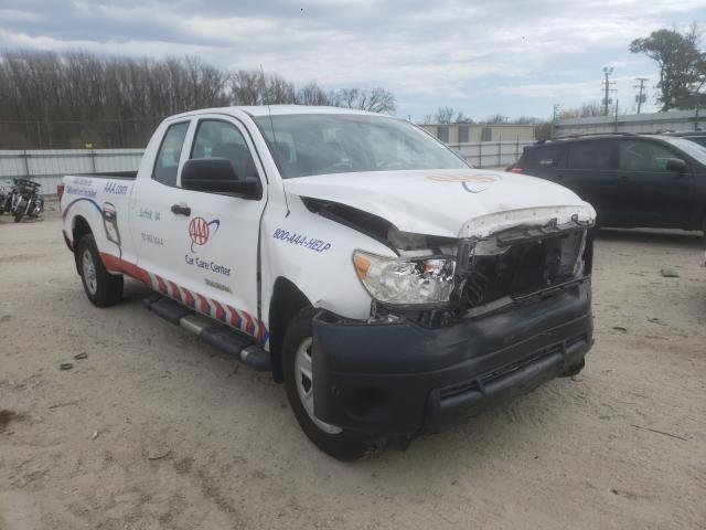 Salvage cars for sale from Copart Hampton, VA: 2010 Toyota Tundra DOU