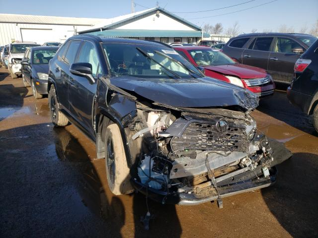 Salvage cars for sale from Copart Pekin, IL: 2020 Toyota Rav4 XSE