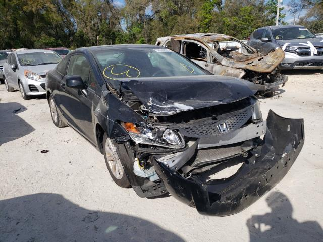 Salvage cars for sale from Copart Ocala, FL: 2012 Honda Civic EX