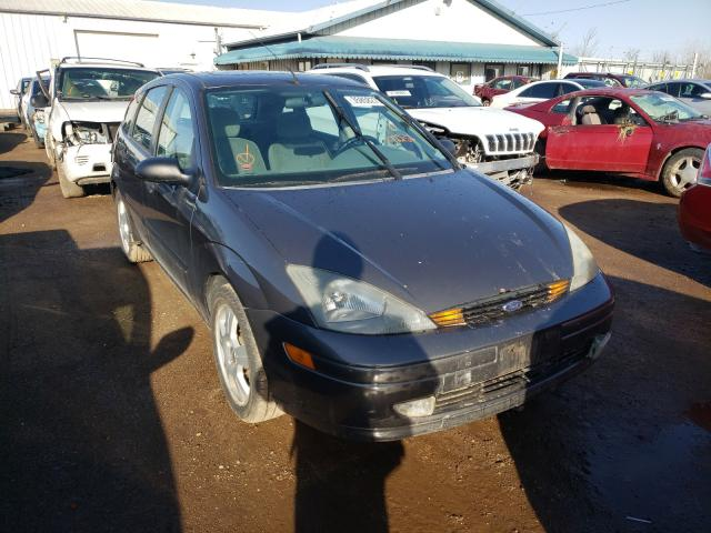 Salvage cars for sale from Copart Pekin, IL: 2003 Ford Focus ZX5