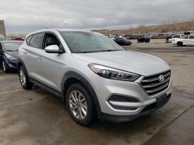 Hyundai salvage cars for sale: 2018 Hyundai Tucson SE