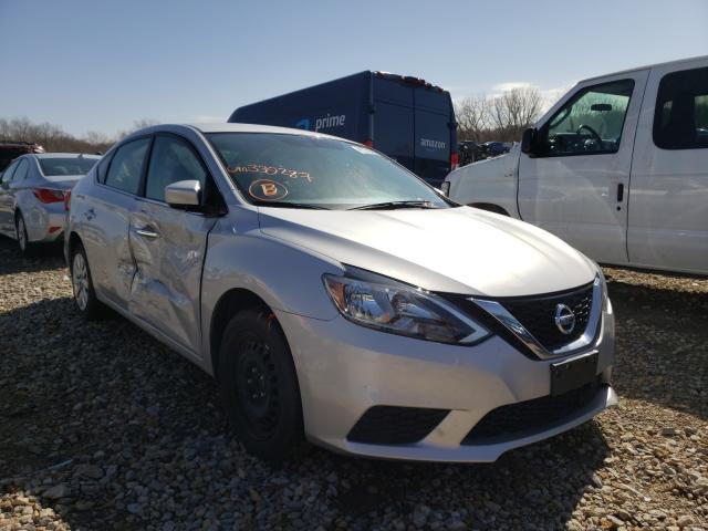 Salvage cars for sale from Copart Kansas City, KS: 2018 Nissan Sentra S