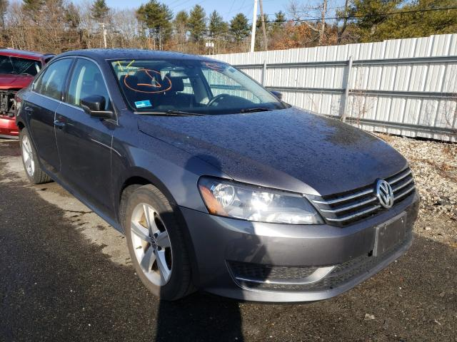 Salvage cars for sale from Copart Exeter, RI: 2013 Volkswagen Passat SE