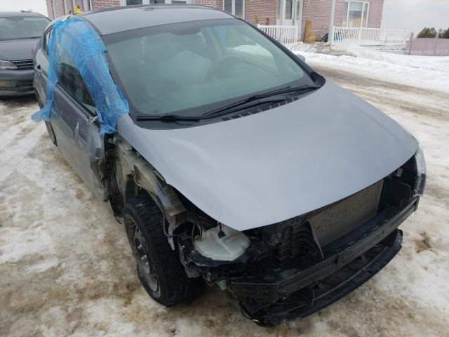 Salvage cars for sale from Copart Montreal Est, QC: 2017 KIA Forte LX