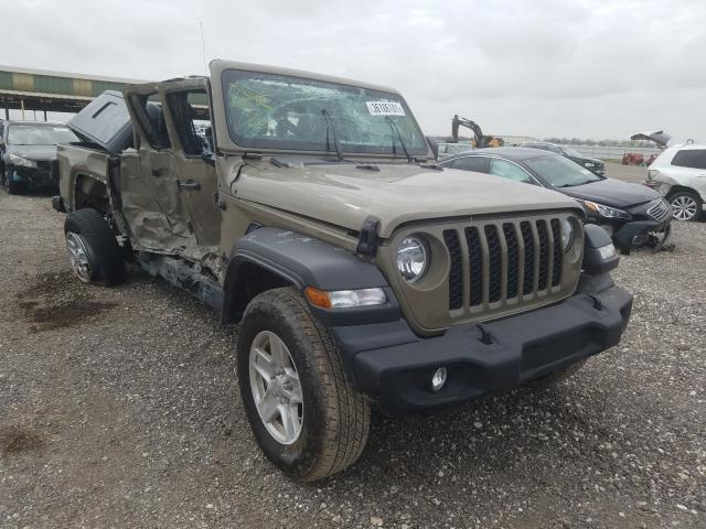 Jeep Gladiator salvage cars for sale: 2020 Jeep Gladiator