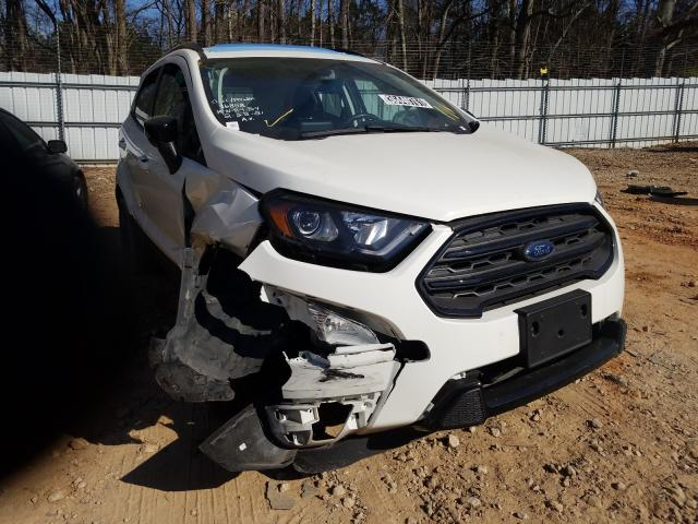 Salvage cars for sale from Copart Austell, GA: 2020 Ford Ecosport S