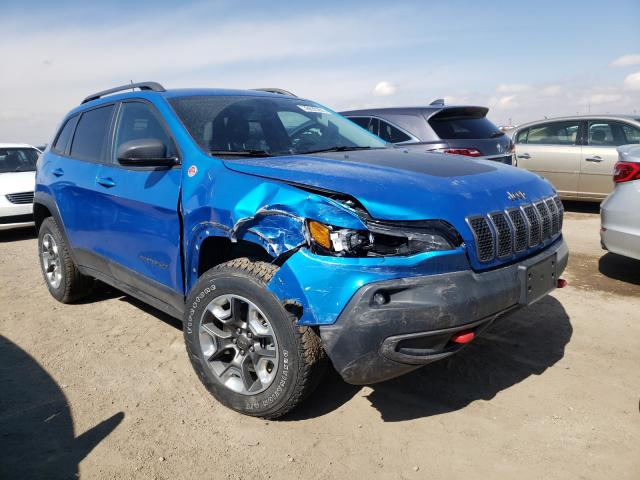 Salvage cars for sale from Copart Brighton, CO: 2019 Jeep Cherokee T