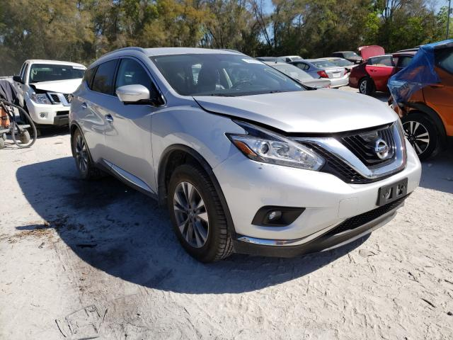 Salvage cars for sale from Copart Ocala, FL: 2015 Nissan Murano S
