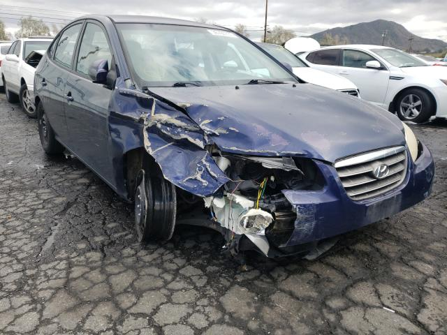 Salvage cars for sale from Copart Colton, CA: 2009 Hyundai Elantra GL