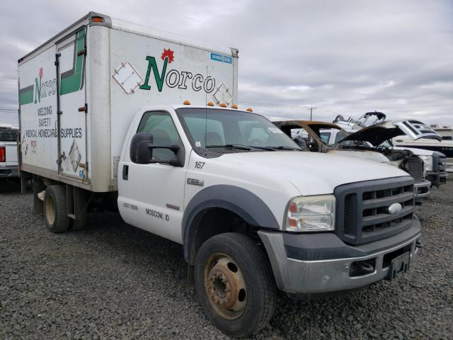 Salvage cars for sale from Copart Airway Heights, WA: 2006 Ford F550 Super
