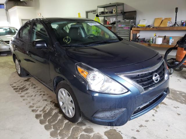 Salvage cars for sale from Copart Chambersburg, PA: 2015 Nissan Versa S