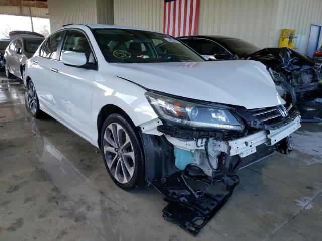Salvage cars for sale from Copart Homestead, FL: 2015 Honda Accord Sport