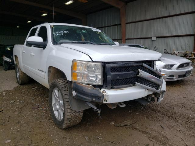 Salvage cars for sale from Copart Houston, TX: 2007 Chevrolet Silverado
