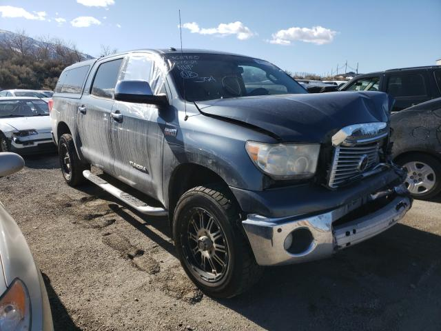 Salvage cars for sale from Copart Reno, NV: 2010 Toyota Tundra CRE