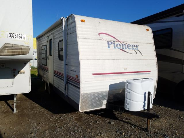 Pioneer salvage cars for sale: 2004 Pioneer Trailer