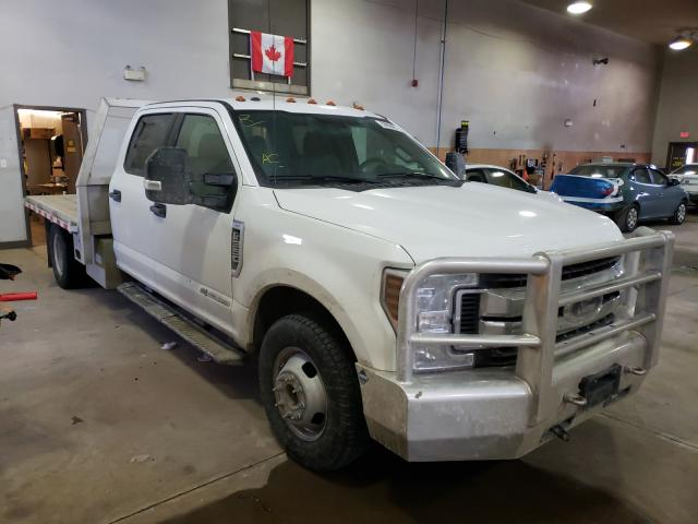Salvage cars for sale from Copart Moncton, NB: 2019 Ford F350 Super