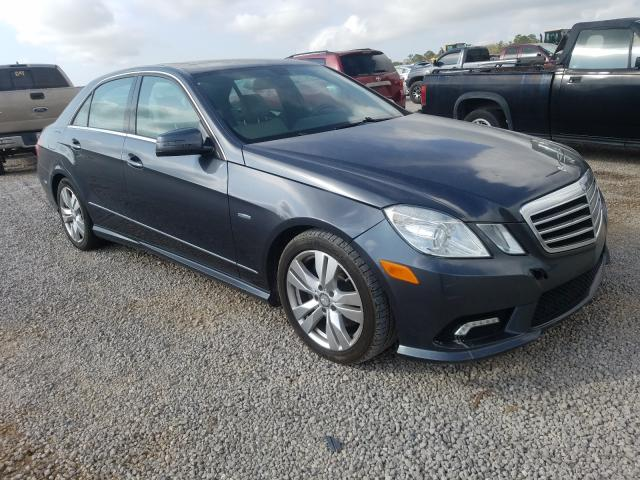2011 Mercedes-Benz E 350 Blue en venta en Eight Mile, AL