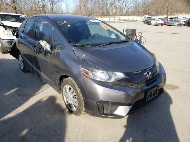 Salvage cars for sale from Copart Ellwood City, PA: 2017 Honda FIT LX