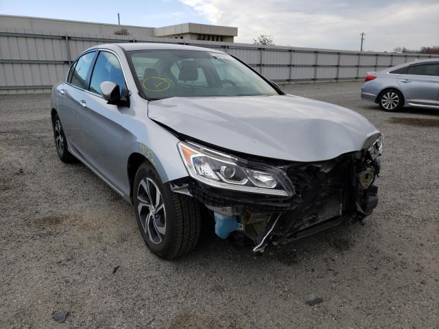 Vehiculos salvage en venta de Copart Fredericksburg, VA: 2017 Honda Accord LX
