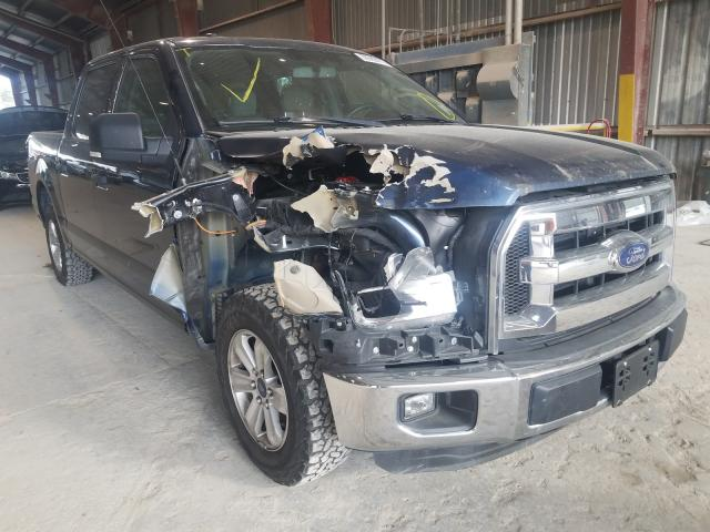 Salvage cars for sale from Copart Greenwell Springs, LA: 2015 Ford F150 Super