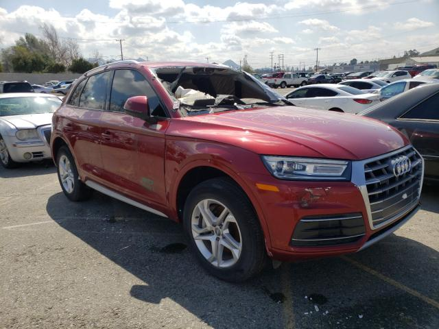 Salvage cars for sale from Copart Colton, CA: 2018 Audi Q5 Premium