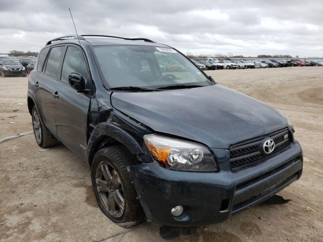 Salvage cars for sale from Copart Temple, TX: 2008 Toyota Rav4 Sport