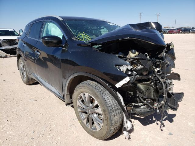 Salvage cars for sale from Copart Andrews, TX: 2018 Nissan Murano S