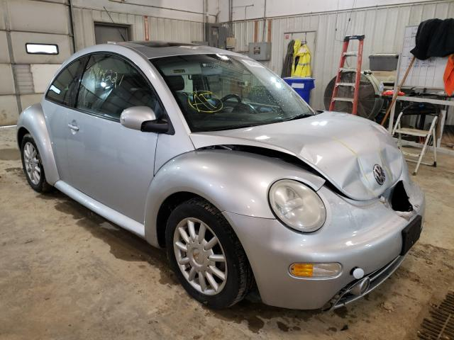 Salvage cars for sale from Copart Columbia, MO: 2004 Volkswagen New Beetle