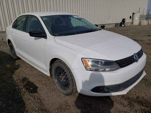 Salvage cars for sale from Copart Rocky View County, AB: 2011 Volkswagen Jetta Base