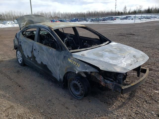 Salvage cars for sale from Copart Atlantic Canada Auction, NB: 2017 Hyundai Elantra SE