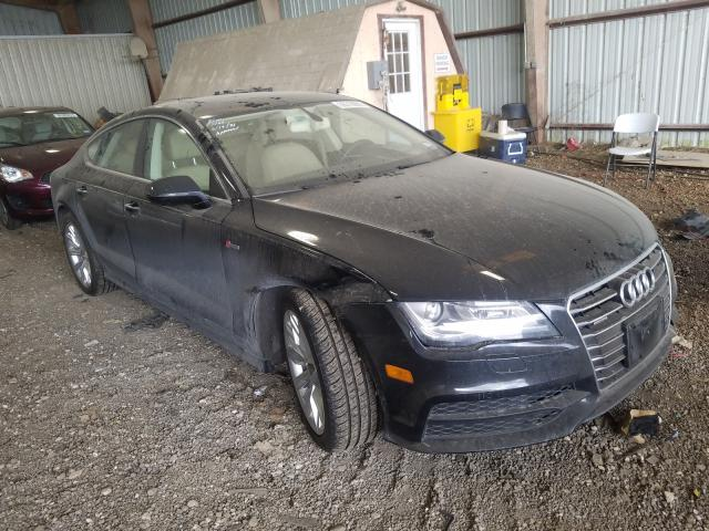 Salvage cars for sale from Copart Houston, TX: 2014 Audi A7 Prestige