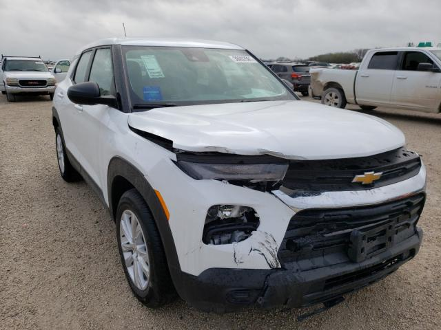 Salvage cars for sale from Copart San Antonio, TX: 2021 Chevrolet Trailblazer