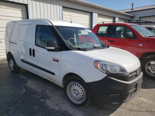 Salvage cars for sale from Copart Columbus, OH: 2017 Dodge RAM Promaster