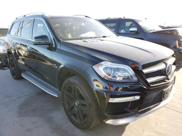Mercedes-Benz salvage cars for sale: 2013 Mercedes-Benz GL 63 AMG