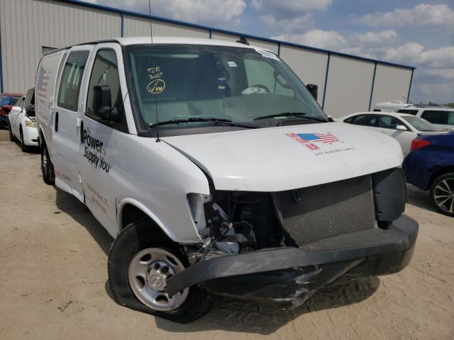 Salvage cars for sale from Copart Apopka, FL: 2019 Chevrolet Express G2