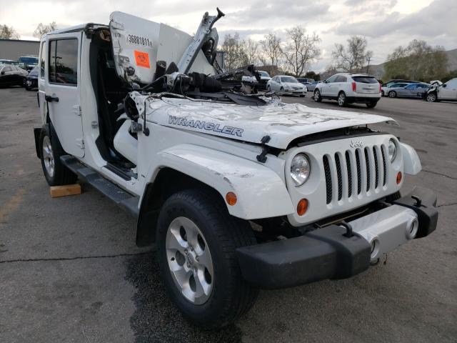 Salvage cars for sale from Copart Colton, CA: 2013 Jeep Wrangler U