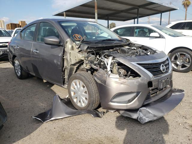 Nissan salvage cars for sale: 2016 Nissan Versa S