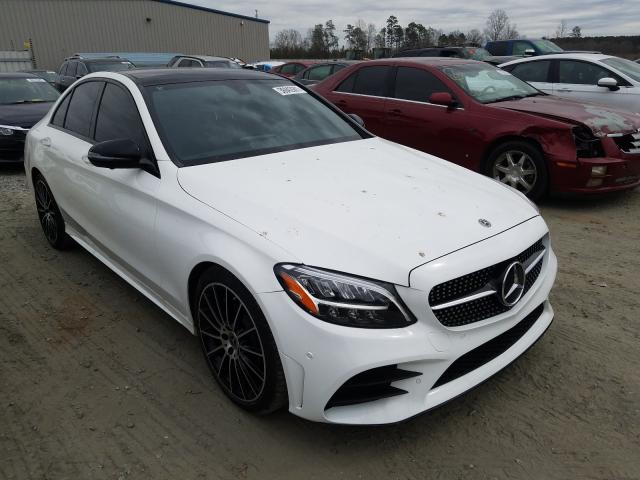 Salvage cars for sale from Copart Spartanburg, SC: 2020 Mercedes-Benz C300