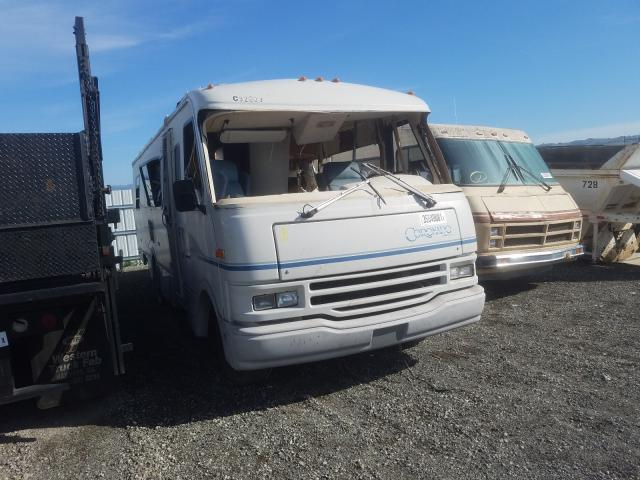 Fleetwood salvage cars for sale: 1992 Fleetwood Motorhome