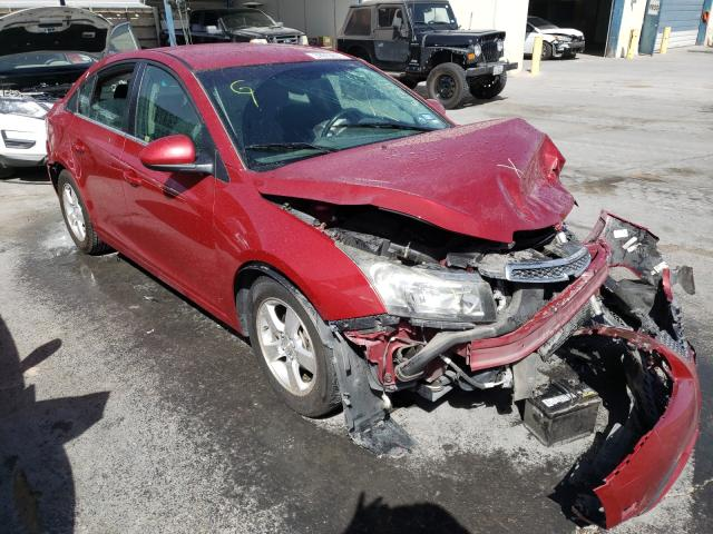 Salvage cars for sale from Copart Anthony, TX: 2014 Chevrolet Cruze LT