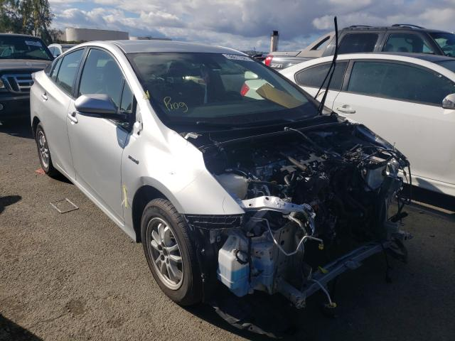 Salvage cars for sale from Copart Martinez, CA: 2018 Toyota Prius