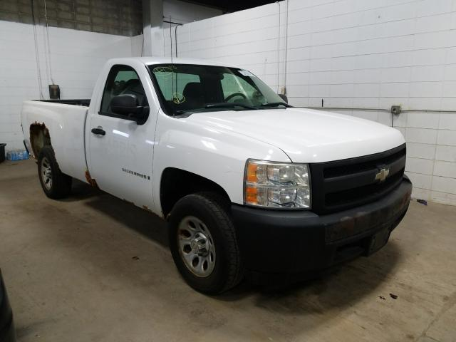 Salvage cars for sale from Copart Blaine, MN: 2007 Chevrolet Silverado