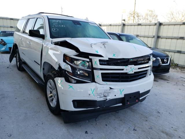 Chevrolet Suburban K salvage cars for sale: 2020 Chevrolet Suburban K