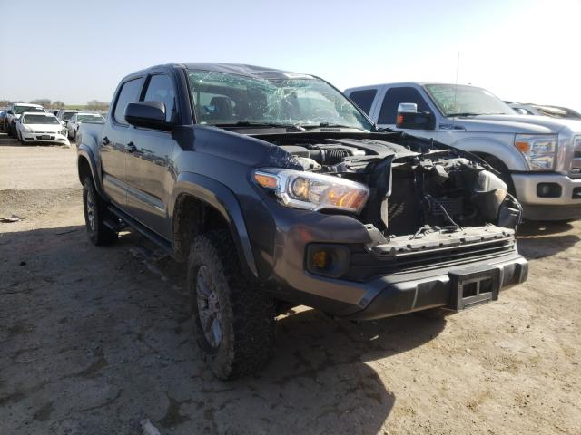 Salvage cars for sale from Copart Temple, TX: 2017 Toyota Tacoma DOU