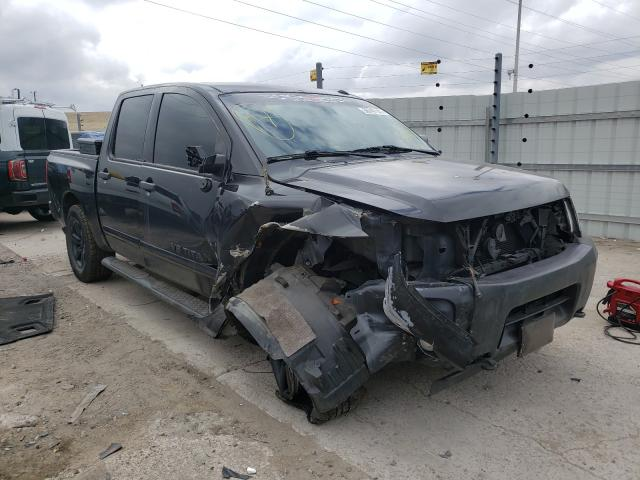 Nissan salvage cars for sale: 2014 Nissan Titan S