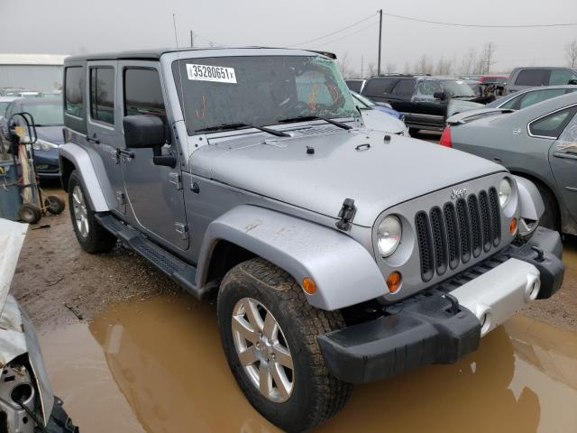 Salvage cars for sale from Copart Pekin, IL: 2013 Jeep Wrangler U