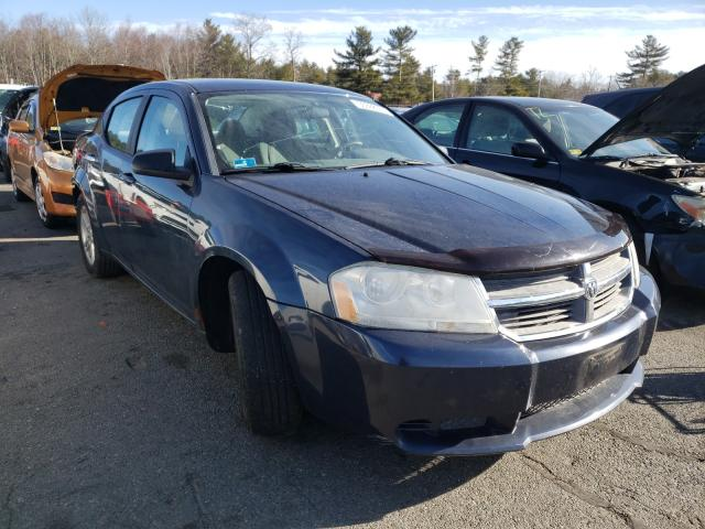 Salvage cars for sale from Copart Exeter, RI: 2008 Dodge Avenger SX
